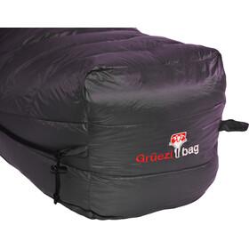 Grüezi-Bag Biopod Down Hybrid Ice Extreme 200 Sac de couchage Large, deep forest